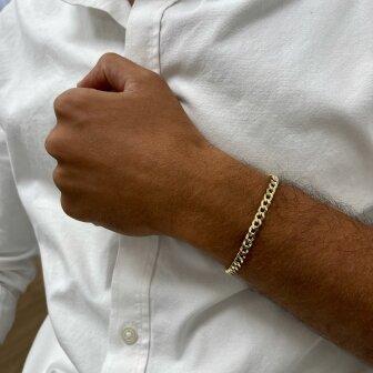 צמיד זהב לגבר BK4