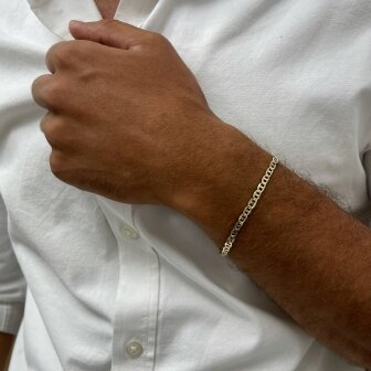 צמיד זהב לגבר BK7