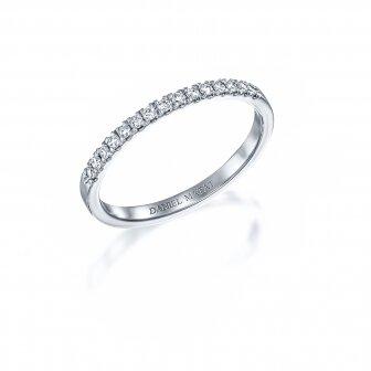 טבעת חצי נישואין יהלומי מעבדה RD297A