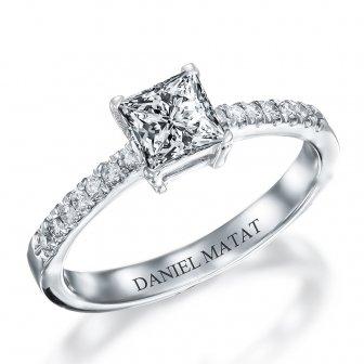 טבעת אירוסין יהלומים RA334W