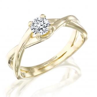 טבעת סוליטר RA449