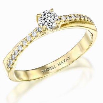 טבעת אירוסין יהלומים RB320
