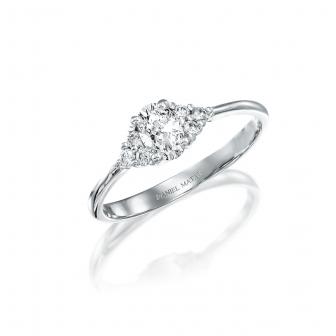 טבעת אירוסין יהלומים RB329O