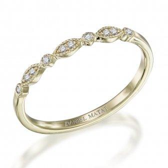 טבעת יהלומים וינטאג' אליזבת- Elizabeth