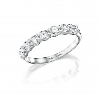 טבעת חצי נישואין יהלומים מעבדה RD235