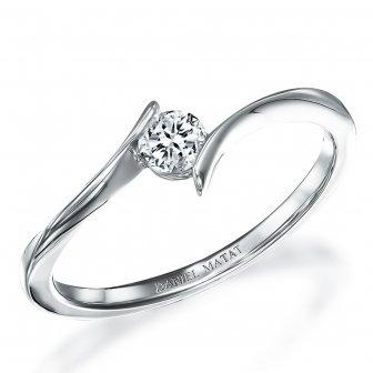 טבעת סוליטר יהלום RN209Y