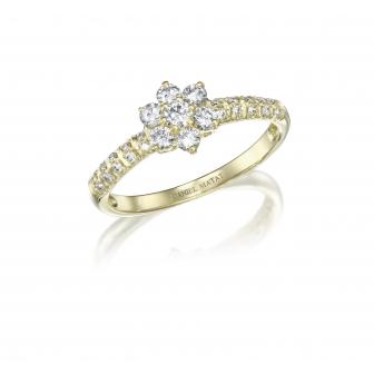 טבעת יהלומים RZ110