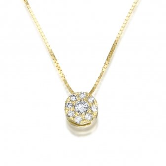 תליון יהלומים T303