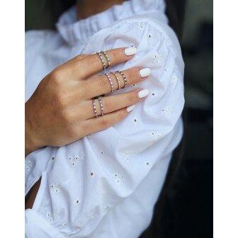 טבעת יהלומים ואבני חן אדריאנה